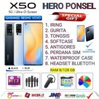 VIVO X50 RAM 8/128 GB GARANSI RESMI VIVO INDONESIA