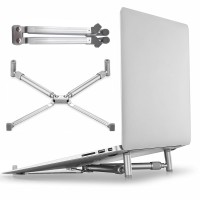 Universal X Stand Folding Holder Cooling Pad Laptop 17 Inch
