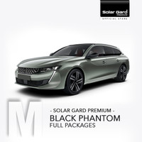 Toyota Avanza Rush Innova Fortuner Kaca Film Solar Gard BLACK PHANTOM