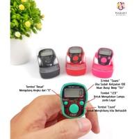 Tasbih Jari Digital/Penghitung/Tasbih Lampu LED/Finger Counter