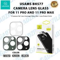 USAMS BH577 PELINDUNG LENSA KAMERA IPHONE 11 PRO MAX CAMERA LENS GLASS