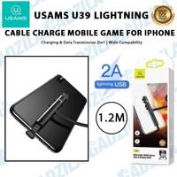 USAMS U39 LIGHTNING SUCKER MOBILE GAMES KABEL CHARGER GAMING IPHONE