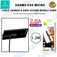 USAMS U39 MICRO USB SUCKER MOBILE GAMES CABLE CHARGER KABEL GAMING