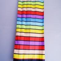 Hordeng jendela motif pelangi ( 60×150 )