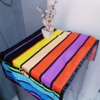 sarung kulkas motif - Rainbow
