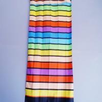 gorden / hordeng motif rainbow 60x150 cm