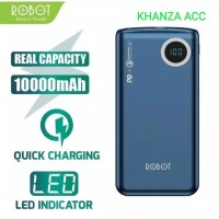 Robot RT100Q 10000mAh 18W Two Way Quick Charging With LED Power Bank