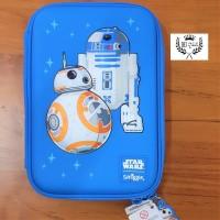 Tempat pensil Smiggle Original EVA Hardcase Star Wars BB-8 R2-D2