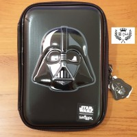 Tempat pensil Smiggle Original EVA Hardcase STAR WARS Darth Vader