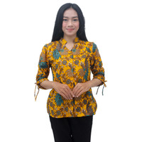 Batik Wanita Atasan Blouse Batik S-M-L-XL-XXL-3L-4L-5L