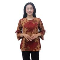 Batik Wanita Blouse Atasan Batik S-M-L-XL-XXL-3L-4L-5L