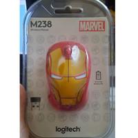 Mouse Logitech M238 Original Marvel Edition Wireless Mouse Iron Man