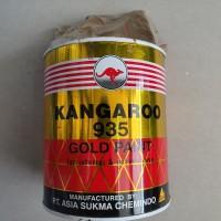 cat emas kangoroo / cat emas kanguru / cat gold kanguru / cat minyak