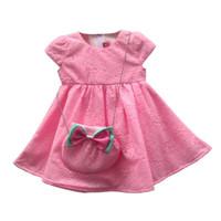 Two Mix Baju Bayi Perempuan - Dress Bayi - Pakaian Bayi Cewek SNI 2839 - Pink Muda, L