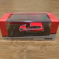 Diecast Tarmac Works Honda Civic EG6 Estillo Red Motegi Race 2010