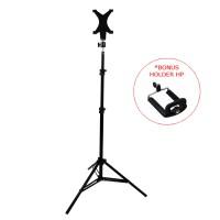 Stand Tripod Besi Tablet HP Holder Stand Kamera ST-15 HU-500 SM-710