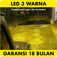 Foglamp LED Dual Color Honda Accord Brio BRV City Fog Lamp H8 H11 H16