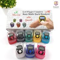 Tasbih Jari Digital Lampu LED Finger Counter Oleh Oleh Haji Umroh
