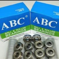 Bearing 608 ZZ(tutup besi) Merk ABC