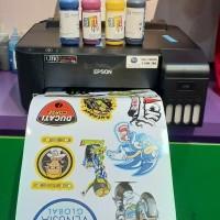 Printer Sticker vinyl inkjet Infus Art ink Paket print