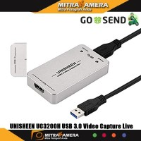 UNISHEEN UC3200H USB 3.0 Video Capture Live Streaming and Game