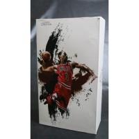 Enterbay NBA #1 Derrick Rose Chicago Bulls Figure Basket 1/9 Scale