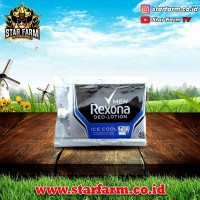 Rexona deo lotion man ice cool sachet 9 gr - Star Farm