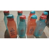 Botol Minum Flip Top Anak Segi Murah - 550 ML