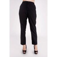 Celana Panang Wanita / Aretha Black Pants 43039T4BK - Bodytalk