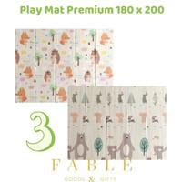 Karpet / Matras / PlayMat Lipat Tebal 1 cm XPE untuk Bayi Merangkak - 180 x 200 cm, 03-BEAR