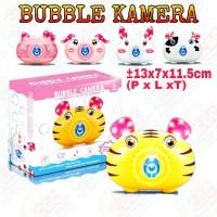 Mainan Bubble Kamera Gelembung Busa Sabun Vlog Atribut SNI