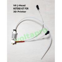 Hotend Kit V6 J Head 1.75 MM filamen | Nozzle 0.4 mm| printer 3D