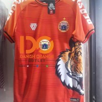 READY STOCK Jersey Persija Tiger Roar Original Warna OREN