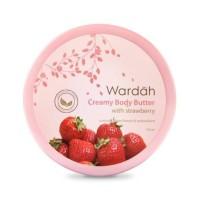 Wardah Creamy Body Butter with Strawberry 100 ml