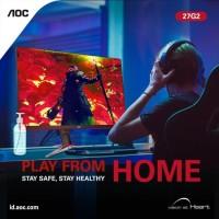 Monitor AOC 27G2 27 Frameless Gaming IPS , FHD 1080P, 1ms 144Hz,
