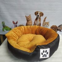 "Tempat Tidur Kucing Anjing  Bulat 50 cm "" Bantal Kasur Kucing Anjing"