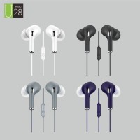 Headset Macaron U28 Earphone Handsfree Stereo HIFI Extra Bass super
