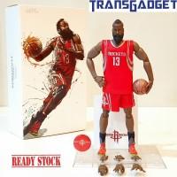 NBA Figure 1/9 James Harden 13 Houston Rockets Basket Ball KO Enterbay