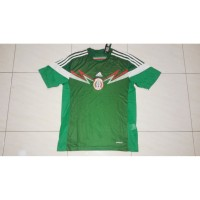 jersey meksiko mexico home 2014 retro world cup