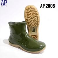 Sepatu Boots Karet Cewek / Wanita AP 2005 Green by AP Boots