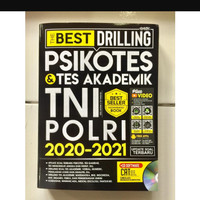 Buku The Best Drilling Psikotes & Tes Akademik TNI-Polri + CD