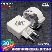 Charger Oppo VOOC Flash Charge 5V-4A ORIGINAL 100% Micro 7 Pin