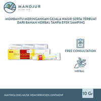 Mayinglong Musk Hemorrhoids Ointment - Salep Wasir, Ambeien, Susah BAB