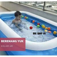 Kolam Renang Mandi anak Besar 2 Meter mainan mandi bola kolam tiup