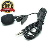 MICROPHONE MIC CLIP ON DELUXE 3.5MM MICROPHONE YOUTUBER WITH CLIP ON