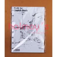 REFILL SKETCH BOOK / BUKU SKETSA / GAMBAR LYRA A5 150 GSM 30 LBR