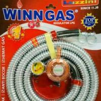 Safety gas , Winn gas , selang paket winn gas , luzini , selang 18M