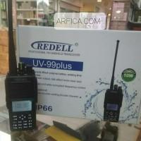 HT REDELL UV-99 PLUS DUAL BAND 10W FM RADIO BATERAI 4800 MAH WATERPROF
