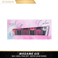 Madame Gie Nail Shell Peel Off - Kutek Calm Series