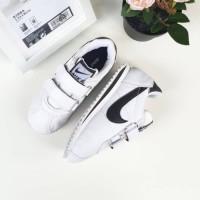 Sepatu anak NIKE CORTEZ PUTIH LIST black sneakers anak BNIB